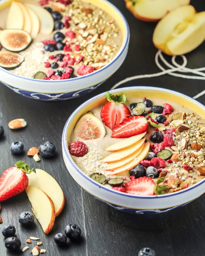 Apple Smoothie Bowl